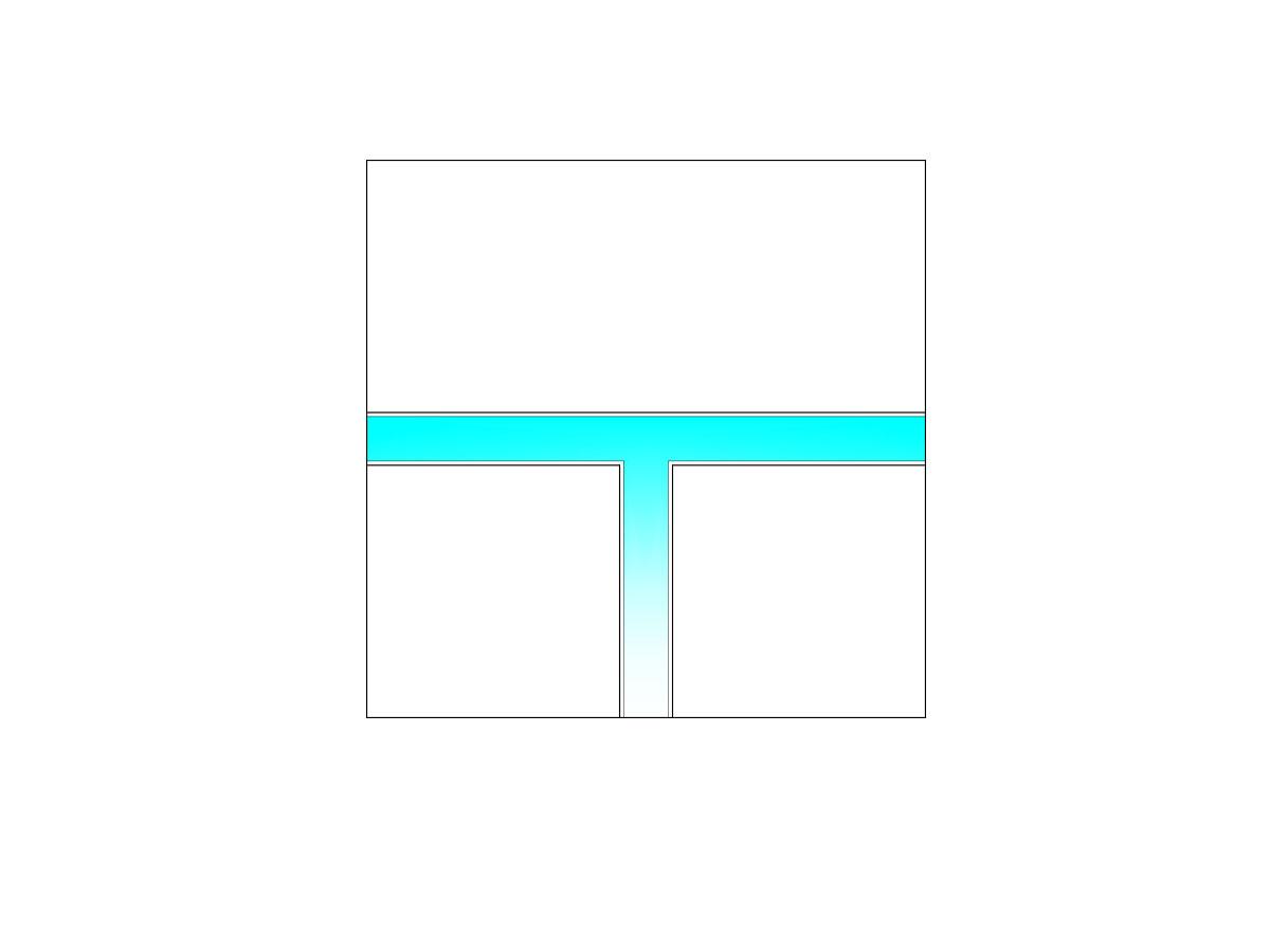 "Raccordo LED a ""T""-sezione"