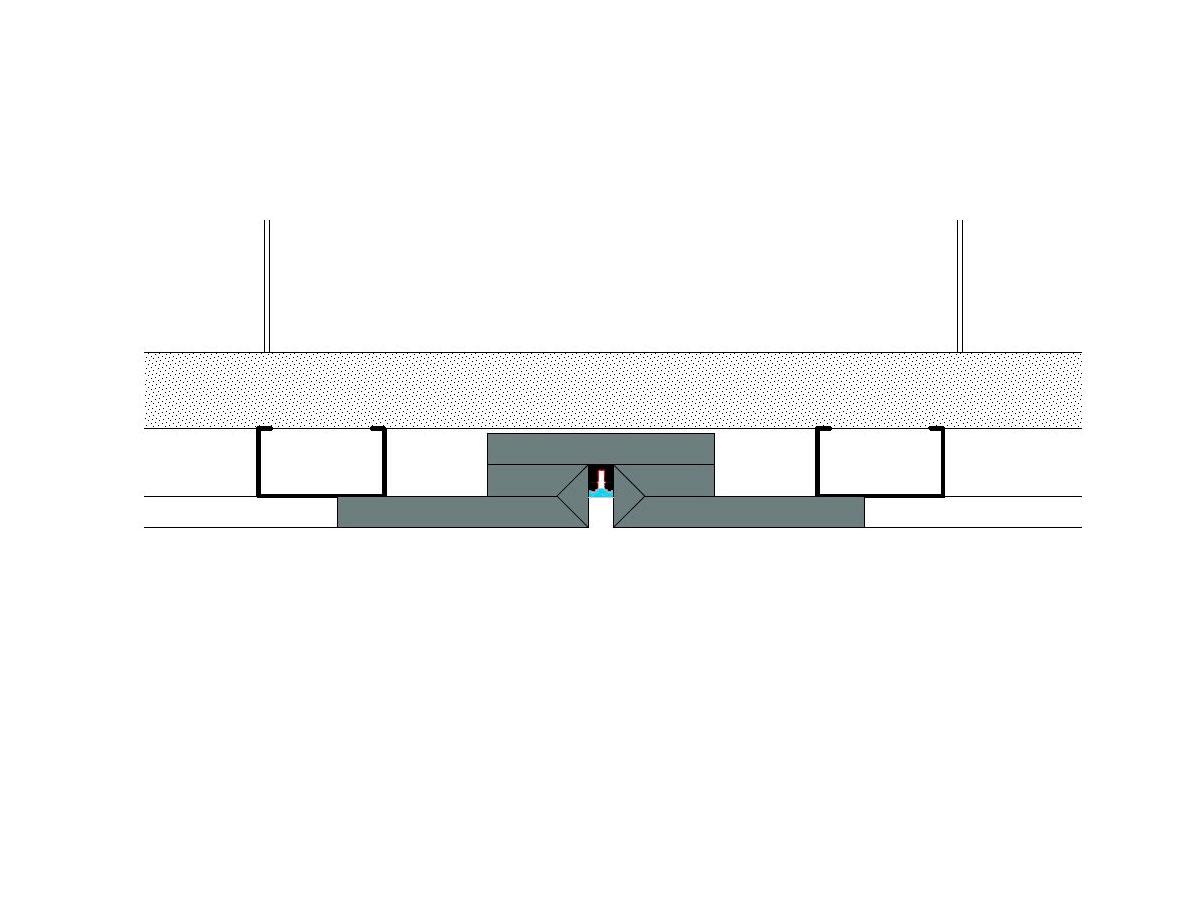 Profilo led piano Microline-sezione
