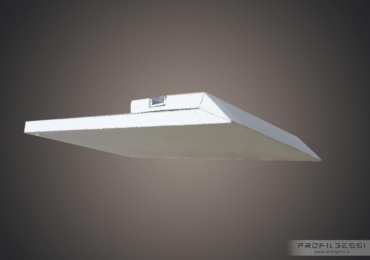 Profilo Led sotto veletta luce indiretta-1387