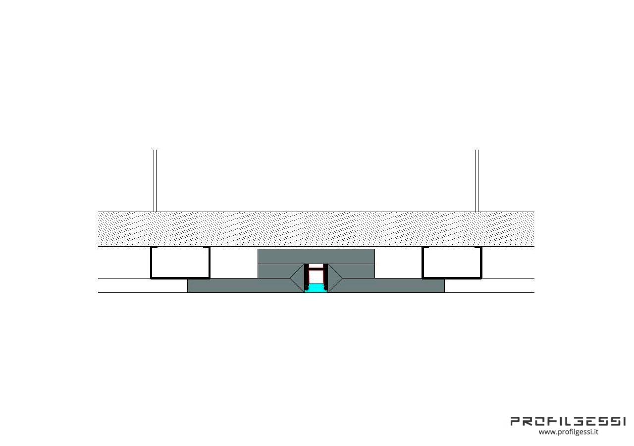Profilo led piano luce diretta alta potenza HIGH POWER-1578