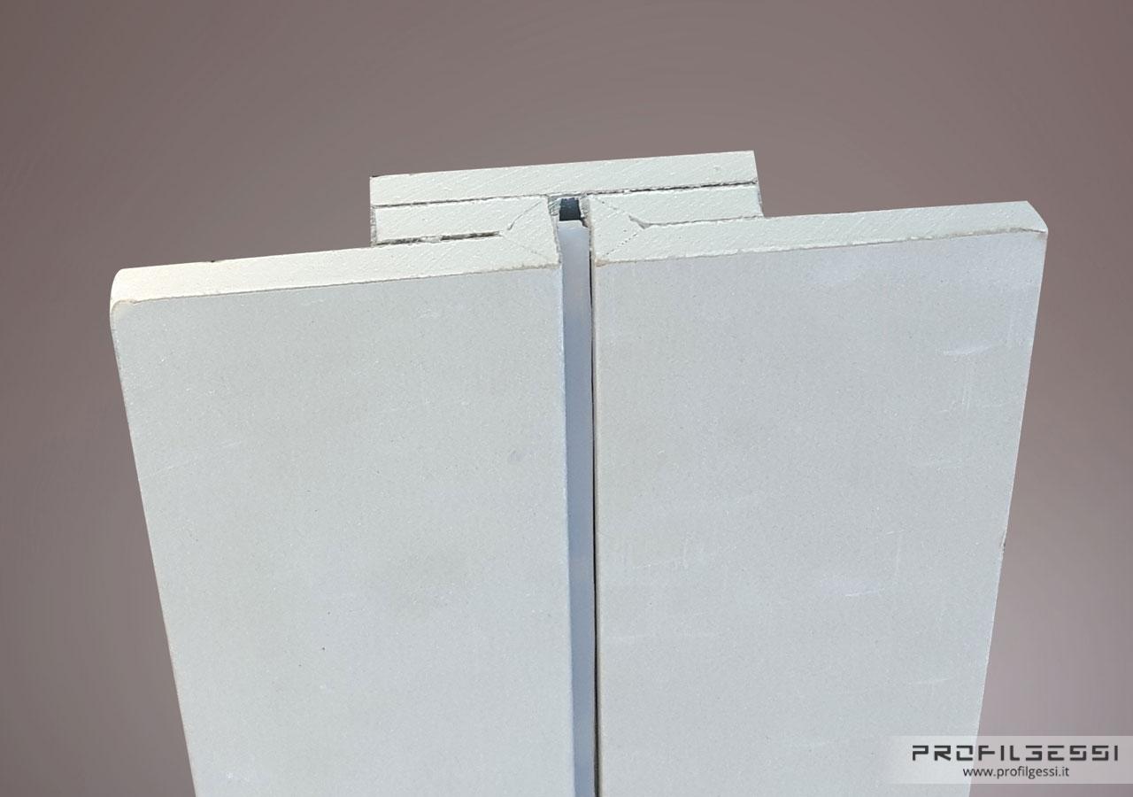 LED Profile direct light Microline Assonometria